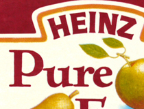 Heinz baby food packaging