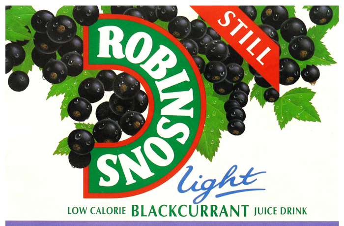 Robinsons drink packaging